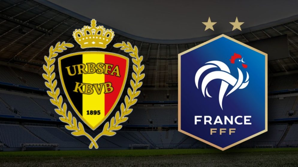 Apostas Bélgica x França Nations League 07/10/21