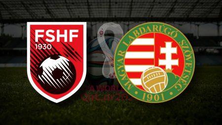 Apostas Hungria x Albânia Eliminatórias UEFA 09/10/21