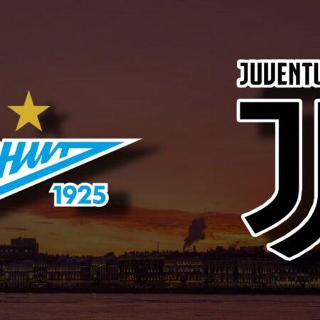 Apostas Zenit x Juventus Liga dos Campeões 20/10/21