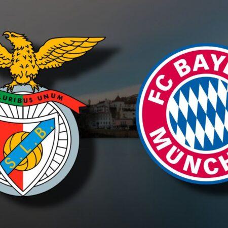 Apostas Benfica x Bayern de Munique Liga dos Campeões 20/10/21