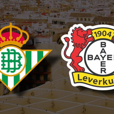 Apostas Real Betis x Bayer Leverkusen Liga Europa 21/10/21