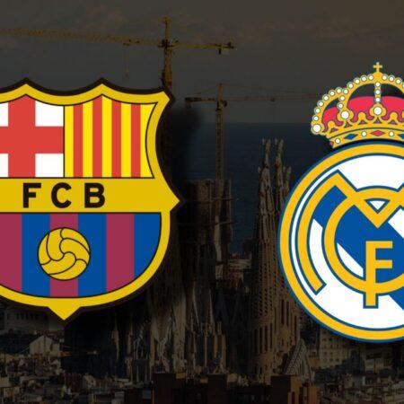 Apostas Barcelona x Real Madrid La Liga 24/10/21