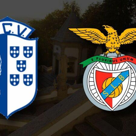 Apostas Vizela x Benfica Primeira Liga 24/10/21