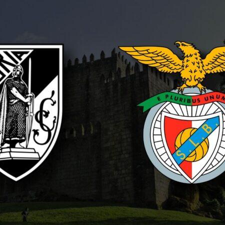 Apostas Vitória de Guimarães x Benfica Taça da Liga 27/10/21