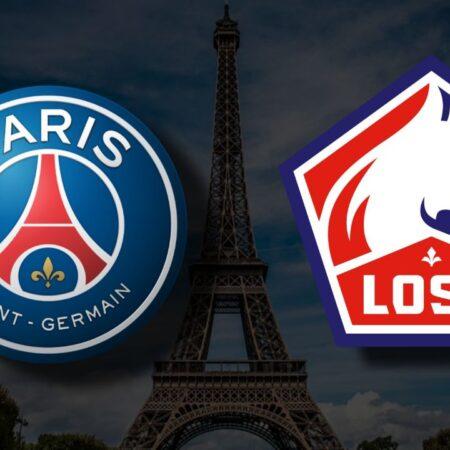 Apostas Paris Saint-Germain x Lille Ligue 1 29/10/21